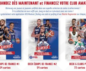 Slam Deck, le nouveau jeu de cartes dédié au basket français