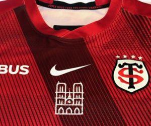 Rugby – Le Stade Toulousain portera un maillot avec Notre Dame de Paris pour sa 1/2 finale de Champions Cup