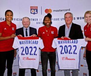 Foot Féminin – Mastercard nouveau partenaire de l'OL et Arsenal