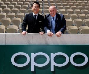 Oppo nouveau Partenaire Premium de Roland-Garros jusqu'en 2021