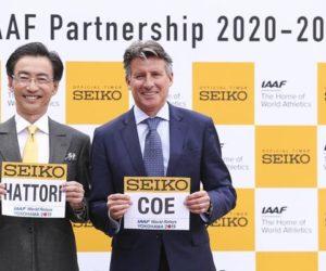 Seiko prolonge son partenariat avec l'IAAF jusqu'au moins 2029
