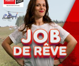Adecco recrute pour un «Job de rêve» cet été sur le Tour de France 2019
