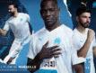 L'Olympique de Marseille dévoile son nouveau maillot domicile 2019-2020 (Puma) sans sponsor sur la face avant