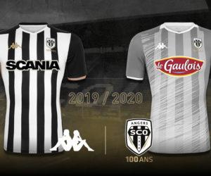 Kappa dévoile les nouveaux maillots d'Angers SCO pour 2019-2020