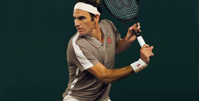 Uniqlo présente les tenues de Roger Federer et Kei Nishikori pour Roland-Garros 2019