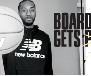 New Balance célèbre son « King of The North » Kawhi Leonard après le titre NBA des Toronto Raptors