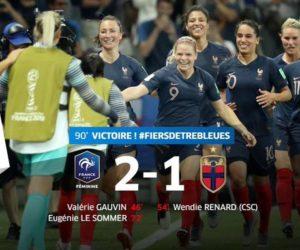 Coupe du Monde Féminine 2019 – Encore une grosse audience sur TF1 et Canal+ pour l'Equipe de France face à la Norvège
