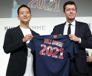 Bulk Homme nouveau sponsor régional du PSG en Asie