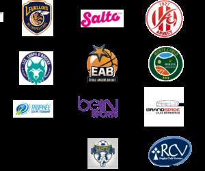 Les partenariats de l'école de Management du Sport Win : ces entreprises qui nous font confiance