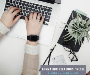 Une formation «Relations Presse & Influence» organisée lundi 24 juin par Sport Connect Lyon