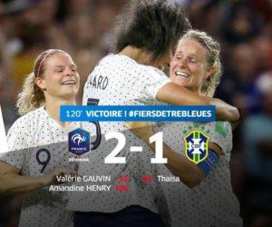 Coupe du Monde féminine de football 2019 – TF1 signe sa meilleure audience de l'année avec le match France – Brésil