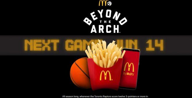 Activation – McDonald's régale les fans en fonction de ce qui se passe sur les terrains