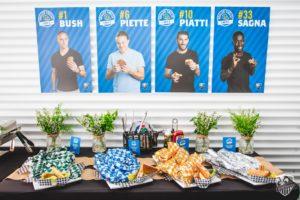 Food – L'Impact de Montréal (MLS) lance des grilled cheese «signature» à l'effigie de 4 joueurs