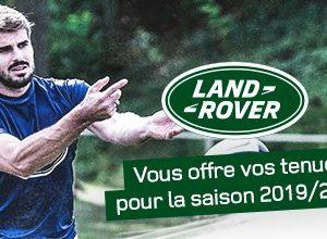 Sponsoring – Land Rover va soutenir 72 clubs amateurs de rugby et leurs équipes de moins de 12 ans