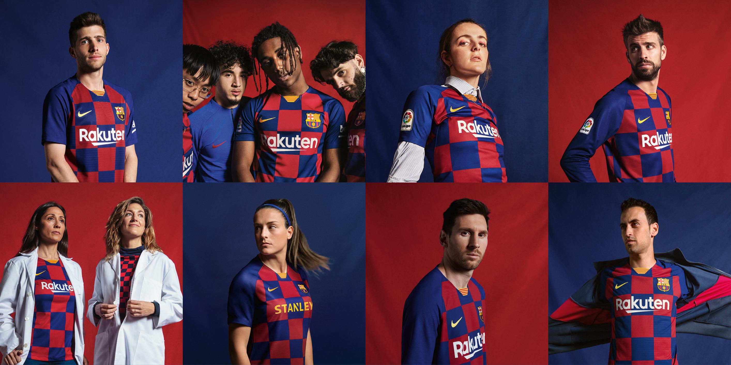 Nike Devoile Le Nouveau Maillot Domicile 2019 2020 Du Fc Barcelone Sportbuzzbusiness Fr