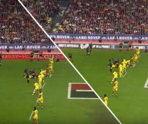 La publicité virtuelle testée lors de la finale de TOP 14 entre Toulouse et Clermont