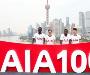 Sponsoring  – AIA prolonge son partenariat avec Tottenham jusqu'en 2027