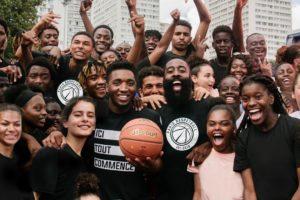 adidas célèbre son nouveau contrat équipementier avec le Paris Basketball en présence de James Harden