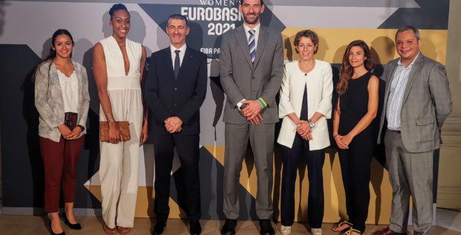 Le Championnat d'Europe de basket féminin 2021 en France (beaucoup) et en Espagne (un peu)