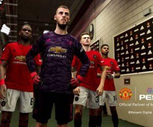 Konami (PES 2020) partenaire officiel de Manchester United