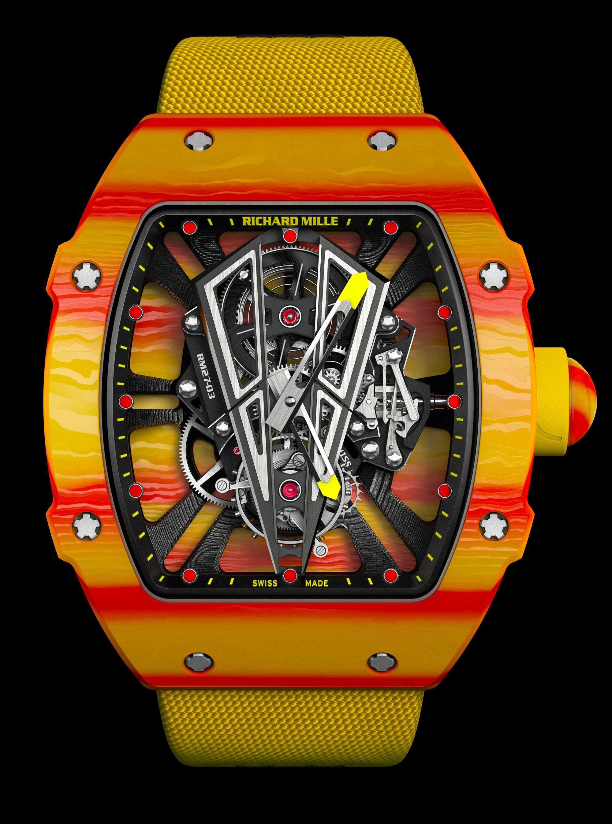 Rafael Nadal porte une montre Richard Mille pour Roland