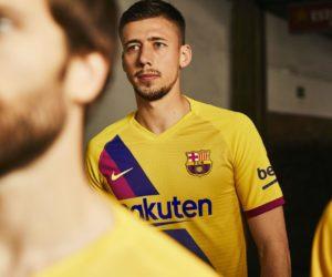 Nike dévoile le nouveau maillot extérieur 2019-2020 du FC Barcelone