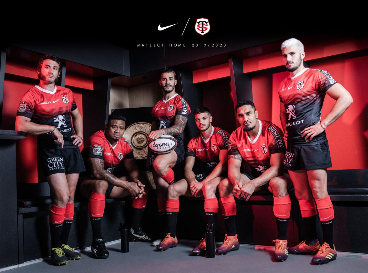 Rugby Nike prolonge son contrat équipementier avec le