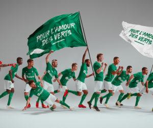 le coq sportif dévoile les nouveaux maillots de l'AS Saint-Etienne pour la saison 2019-2020