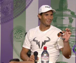 Wimbledon – Quand Rafael Nadal place sa montre Richard Mille en conférence de presse après son match contre Kyrgios