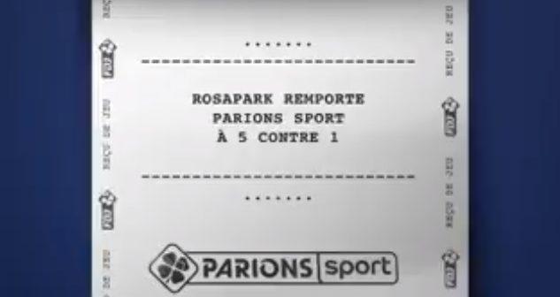 L'agence Rosapark va accompagner ParionsSport pour les 2 prochaines années