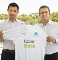 Uber Eats nouveau sponsor maillot de l'Olympique de Marseille jusqu'en 2022