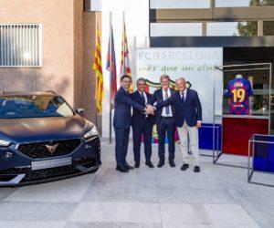 Cupra nouveau partenaire automobile du FC Barcelone