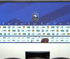 Sponsoring – La FFF se dote d'un nouveau backdrop LED pour les conférences de presse