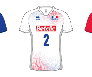 Betclic nouveau sponsor maillot de l'Equipe de France de Volleyball (EuroVolley 2019)