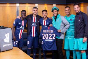 Deliveroo nouveau partenaire du Paris Saint-Germain jusqu'en 2022