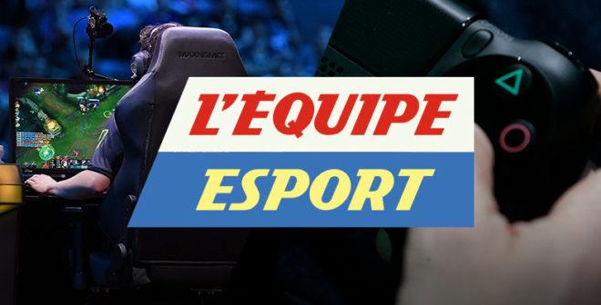 L'Équipe lance son émission 100% eSport qui s'inspirera du talk show «L'Équipe du soir»