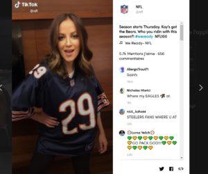 Social Media – La NFL signe un partenariat pluriannuel avec TikTok