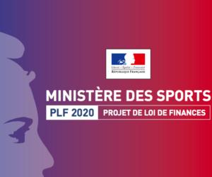 Le détail du budget 2020 du Ministère des Sports (710,42M€)