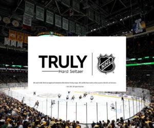 Truly Hard Seltzer nouveau partenaire de la NHL sur le segment de l'eau pétillante alcoolisée