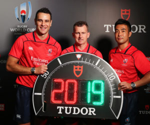 La Coupe du Monde de Rugby 2019 à l'heure de Tudor