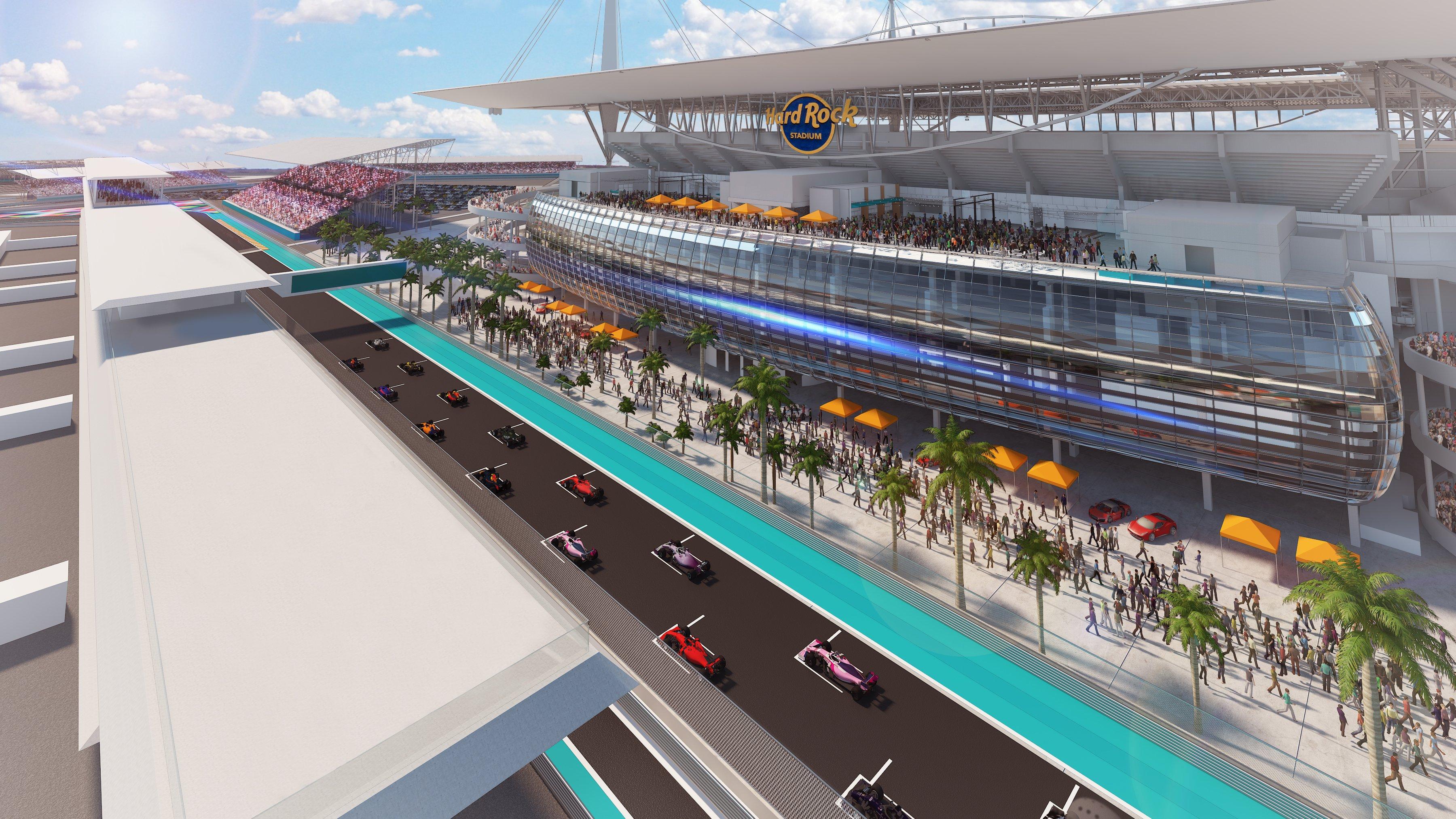 F1 : un Grand Prix à Miami en 2021 - F1