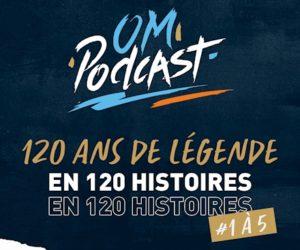 L'Olympique de Marseille se lance dans l'univers des podcasts