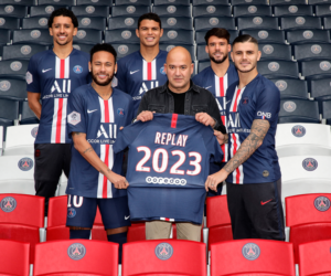 Replay nouveau partenaire Denim du Paris Saint-Germain