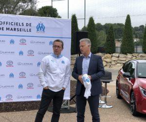 Toyota et Lexus nouveaux partenaires officiels de l'Olympique de Marseille