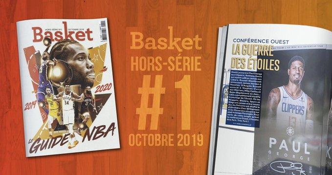 Basket Le Mag Sort Un Hors Serie 100 Nba Avec Le Site Basket Usa Nous Esperons Realiser 15 000 Ventes Sportbuzzbusiness Fr