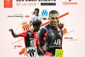 Chaussures, maillots, gants… La bataille des équipementiers en Ligue 1 Conforama saison 2019-2020