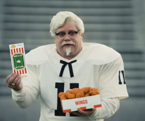 KFC lance des « Seasoned Tickets » d'ailes de poulet à destination des fans de football US sur StubHub