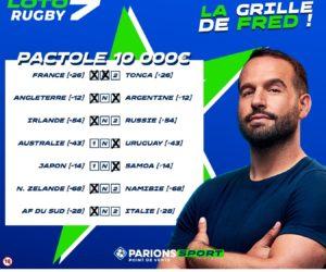 Après le «Loto Foot», FDJ lance «Loto Rugby» et recrute Frédéric Michalak comme ambassadeur
