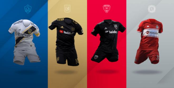 TOP 25 des joueurs qui ont vendu le plus de maillots de Major League Soccer (MLS) en 2019