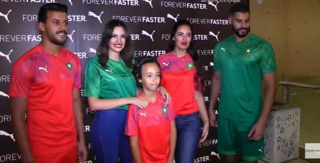 Football – Puma dévoile les nouveaux maillots du Maroc